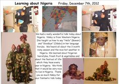 all about Nigeria in picture | Learning all about Nigeria