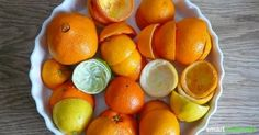 DIY Allzweckreiniger mit Orangen/Zitronenschalen + Essig.