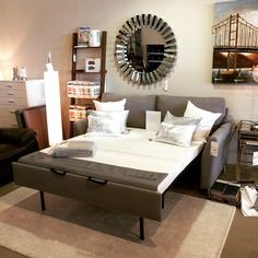 American Leather Noah Sleeper Scandinavia Inc Contemporary Modern Furniture  New Orleans Metairie Louisiana