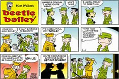 Beetle Bailey strip for May 7, 2017