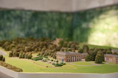 So this was when I graffitied a miniature model of a stately home, inside the stately home... make sense? #belsayhall #slinkachu #miniature #graffiti