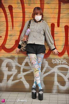 FASHION JAPAN: Nana (Harajuku,Tokyo,Bloc,Grimoire,Bubbles,AVANTGARDE,Jeffrey Campbell)