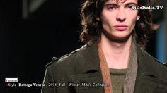 """Italian Fashion"" - ""Bottega Veneta"" - ""2016 Fall Winter"" - ""Men Collect..."