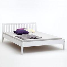 Luxury Doppelbett SONJA Buche massiv wei x cm Amazon de K che u Haushalt