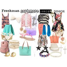 """""""First Day of School High School Years"""" by animallover67 on Polyvore"""