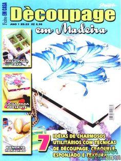 Decoupage en Madera 23 - Декупаж, рисунок и др. - Журналы по рукоделию - Страна…