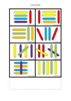 Renkli Dil Çubukları İle Eğitici Oyuncak Yapımı ve Kalıbı