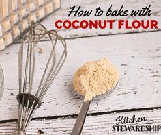 For substituting flour in grain free dog treats: To use coconut flour in baking (and what NOT to do!) Grain free baking with coconut flour is nothing like regular baking. Gluten Free Treats, Dairy Free Recipes, Low Carb Recipes, Whole Food Recipes, Paleo Recipes, Cooking Recipes, Baking With Coconut Flour, Coconut Flour Recipes, Low Carb Bread