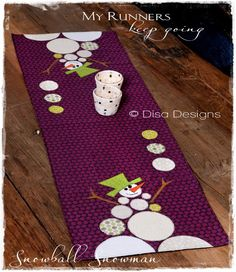 """From my book """"My Runners Keep Going"""" ~ Disa Designs"""