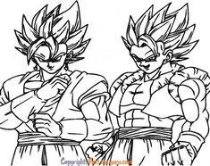 Free Kids Coloring Pages, Coloring Pages To Print, Coloring Pages For Kids, Coloring Sheets, Easy Drawings, Dragon Ball Z, Printables, Wallpaper, Art