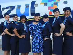 uniformes azul linhas aereas - Pesquisa Google