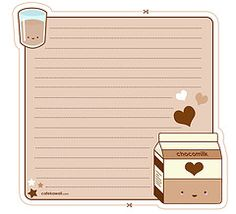 Cute Kawaii printables