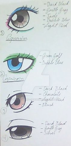 Tutorial - Eyes by ThaisMarino-Sensei on DeviantArt