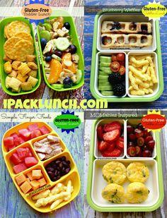 Gluten-free toddler preschool healthy lunch ideas