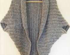 3 Crochet Patterns Discount Sale: Shrug/Cardigan/Sweater/Top