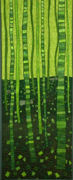 """""""Deep Within the Forest"""" by Lisa Flowers Ross at Lisa's Art & Musings"""