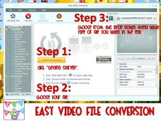 Photo Tutorial: Easy Video Converter!  Use those YouTube videos at school