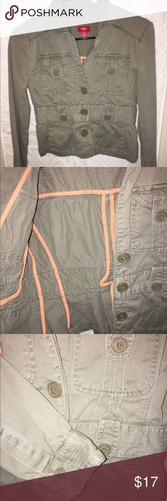 Casual Jacket Casual jean/corduroy jacket great with a summer dress or shorts or jeans. Versatile great with any outfit. Jackets & Coats Jean Jackets