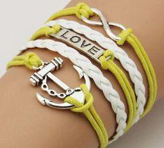Bracelet LOVE Anchor Bracelets