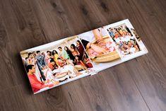 Hindu Wedding Album Design | Gingerlime Design Wedding Album Cover, Wedding Album Layout, Wedding Collage, Wedding Photo Albums, Indian Wedding Album Design, Wedding Designs, Wedding Ideas, Marriage Photo Album, Album Cover Design