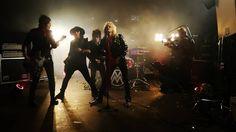 Behind the scenes of Michael Monroe music video. #musicvideoshoot🎥 #lumifilms #michaelmonroe #michaelmonroeband #therockstars