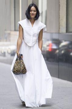 New York Fashion Week Street Style Spring 2017   POPSUGAR Fashion