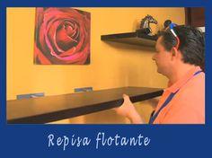 Aprende a instalar una repisa flotante   Hacer bricolaje es facilisimo.com