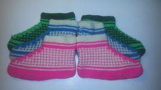 How to knit Grandmas Socks. Bosnian Socks - Cozy Slippers.