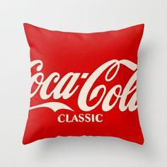 Coca-Cola Classique Throw Pillow