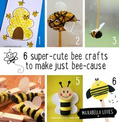 Screen freedom - bee crafts to make just bee-cause