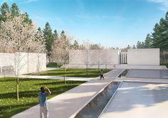 Famen Temple Zen Meditation Center Winning Proposal  / OAC