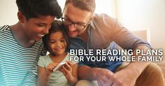 A series of Bible reading plans for your family featuring variety of themes and dynamic content from What's In The Bible?