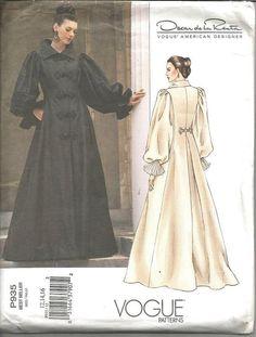 Evening Length Coat Coatdress Oscar de la Renta Fit & by kinseysue
