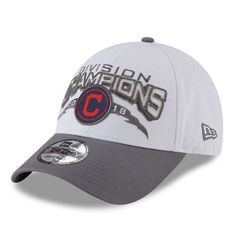 info for dd021 b7ba3 Cleveland Indians New Era 2018 AL Central Division Champions 9FORTY  Adjustable Hat - Gray - OSFA - Walmart.com