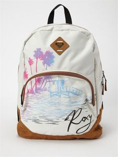 Backpack by Roxy - Backpack Purse, Purse Wallet, Avon, Best Backpacks For School, Ted Baker, Roxy Backpacks, Prada, Grunge, Roxy Surf