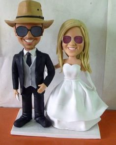 Custom Wedding Cake Toppers by HoneyMeng on Etsy Personalized Wedding Cake Toppers, Wedding Cakes, Trending Outfits, Handmade Gifts, Vintage, Etsy, Fashion, Weddings, Wedding Gown Cakes
