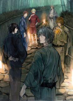 Nitro+CHiRAL, Togainu no Chi, Akira (TNC), Keisuke (TNC), Motomi (TNC), Rin (TNC)