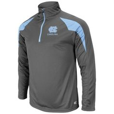 North Carolina Tar Heels Men's Charcoal Adrenaline 1/4 Zip Long Sleeve Shirt Virginia Tech Apparel, Unc Apparel, Carolina Pride, North Carolina, Unc Gear, Ohio State Gear, Unc Tarheels, Missouri Tigers, Tar Heels