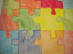 ESCHER (1 sessió i mitja) Podem construir les nostres pròpies tessel·les a partir d'un quadrat. Tot allò que retallem de sota ho hem d'enganxar a sobre; igualment de dreta a esquerra. Resseguim la figura obtinguda per fer la nostra plantilla i anem omplint el full de tessel·les.