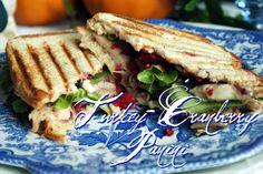 A Little Loveliness: Turkey-Cranberry Panini