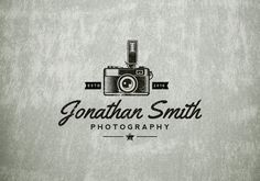 Photography Logo  Premade Logo  Logo Design and by zazendesign