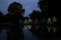 garden night lights glowsticks - Google Search