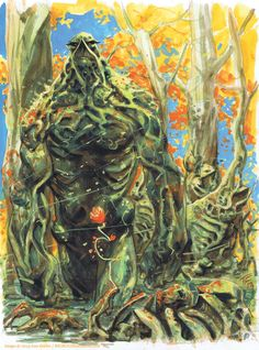 Swamp Thing by Tom Fowler - Imgur