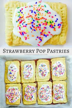 Homemade Strawberry Pop-Tarts are a nostalgic family treat. Enjoy these scrumptious breakfast pastries any day of the week, or pack them for a snack at work. This easy copycat recipe can be made several days in advance.