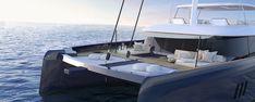 Sunreef Yachts - luxury custom yachts, catamarans, power boats design, construction and charter agency Catamaran Design, Catamaran Charter, Sailing Catamaran, Yacht Design, Boat Design, Sunreef Yachts, Super Yachts, Power Boats, Luxury Yachts