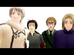 [APH] [MMD] They see him rollin', they hatin' - YouTube