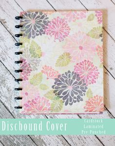 Discbound, Arc System Notebook Covers, Planner Covers, Laminated Covers $4.99 Laminated Planner Cover+Back Cover