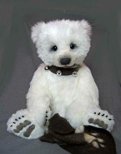 Gorgeous polar bear by Silvia Gilles