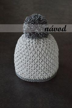 Návod - háčkovaná čepice