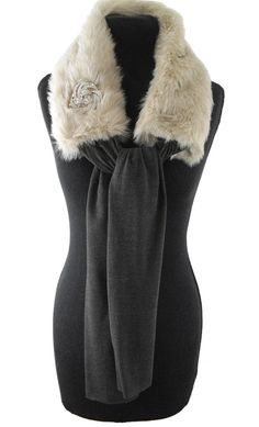 Our number 1 pinned item- Camel Faux Fur Scarf with Brooch Fur Fashion, Womens Fashion, Sporty Fashion, Winter Fashion, Diy Accessoires, Fur Accessories, T Shirt And Jeans, Fur Collars, Faux Fur